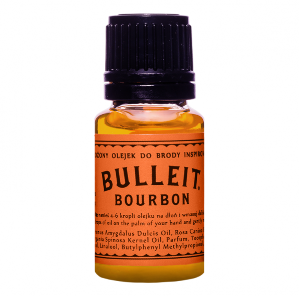 Pan Drwal Bulleit Bartöl (10 ml)