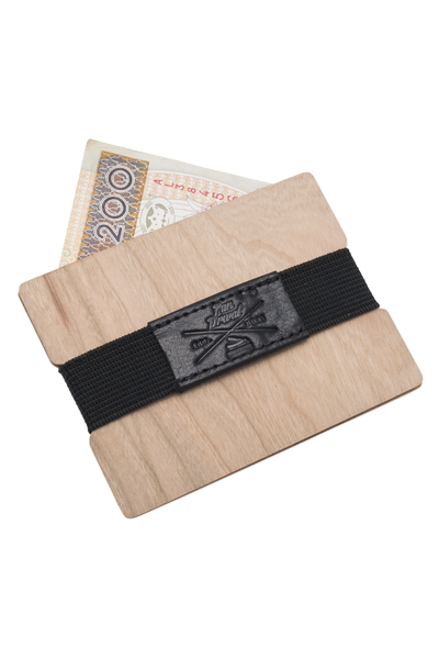 Edle Brieftasche aus Holz